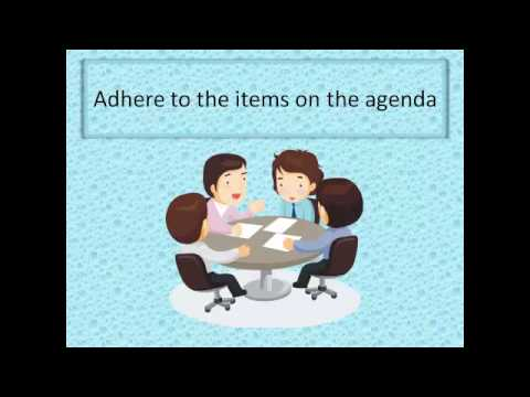 Top Five Tips for Running Productive and Effective Meetings