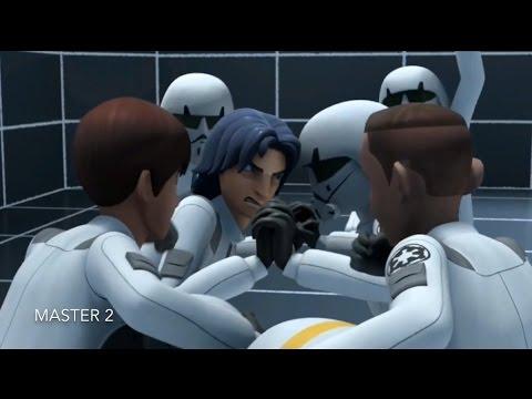 [Ezra train's in the Imperial Academy] Star Wars Rebels Season 1 Episode 6 [HD]