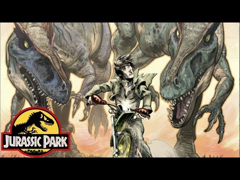 The Escape From Isla Nublar - Dangerous Games - Jurassic Park Comics - Part 5