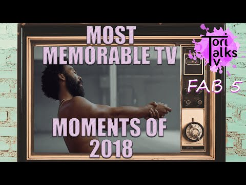 Top 10 Most Memorable TV Moments of 2018