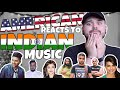 American REACTS // Indian Music