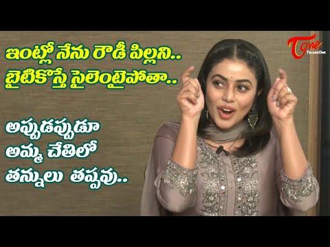 Poorna about her Funny Behaviour @ Home | Power Play Team Interview | Raj Tarun | TeluguOne Cinema