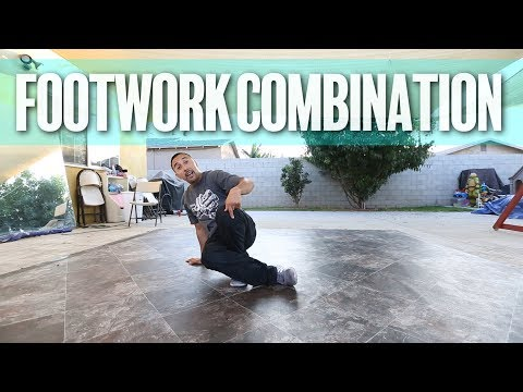 How To Breakdance | Footwork Combination | Master Ace (Master Movements, Los Angeles)