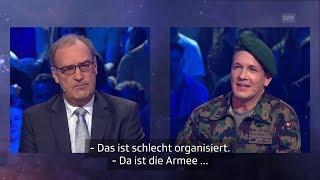 Das 100-minütiges Special der welschen Erfolgssendung «26 minutes» mit den Satirikern Vincent Veillon und Vincent Kucholl ist die letzte Folge vor dem Sommerprogramm. Im September geht es dann weiter mit der allerletzten Staffel des Westschweizer Satireformats.