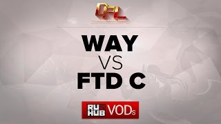 WAY vs FTD.C, game 1