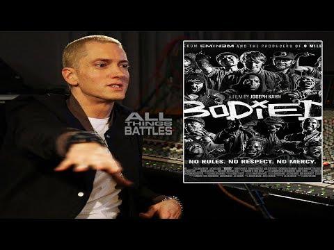 Eminem speaks on CLONE rumors & BODIED (2019 Battle Rap Movie)