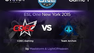 CDEC vs Archon, game 1