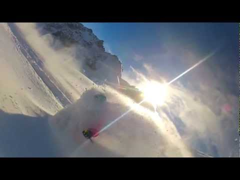 Session freeride à Chamonix