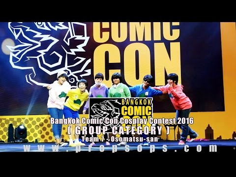 Bangkok Comic Con 2016 Cosplay Contest – Team 7 | Osomatsu-san