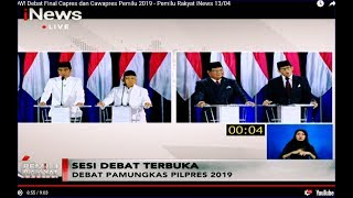 Video Jokowi Tanya Prabowo soal 'Mobile Legend', Sandiaga Jawab soal Si Rahman - Pemilu Rakyat 13/04 MP3, 3GP, MP4, WEBM, AVI, FLV April 2019
