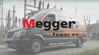Vehículo de pruebas en transformadores de Megger