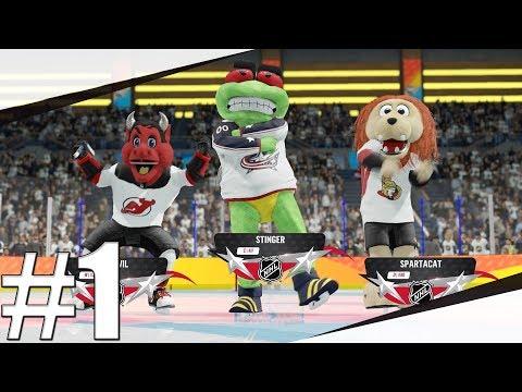 NHL 18 | NHL THREES | Hrajeme Za Maskoty!!! | PART 1 | Xbox One | CZ/SK