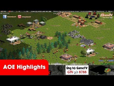 AOE Highlights | Trận đấu bật Time siêu hay của cặp đôi 96 đến từ GameTV