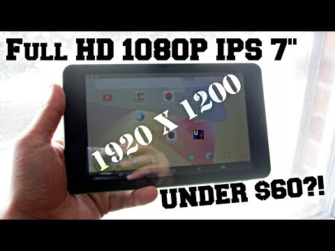 Possibly The HIGHEST Resolution 7 inch Android Tablet?! (A88T Pro)