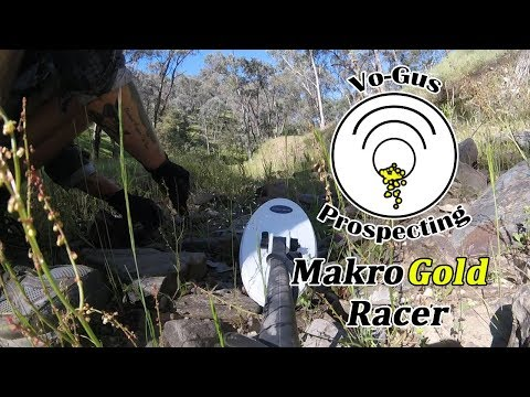 Gold Field Detecting with Makro Gold Racer