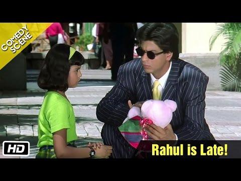 Video Rahul is Late! - Comedy Scene - Kuch Kuch Hota Hai - Shahrukh Khan, Sana Saeed download in MP3, 3GP, MP4, WEBM, AVI, FLV January 2017