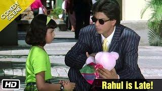 Rahul is Late! - Comedy Scene - Kuch Kuch Hota Hai - Shahrukh Khan, Sana Saeed