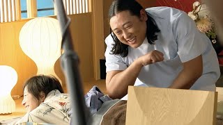 広末涼子&ロバート秋山出演・マッサージのシーンでは緊張/サントリー「のんある気分」CMメイキング