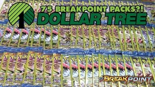 Pokémon Cards - Opening 75 BreakPoint Dollar Tree Packs w/ MegaTankEX! by The Pokémon Evolutionaries