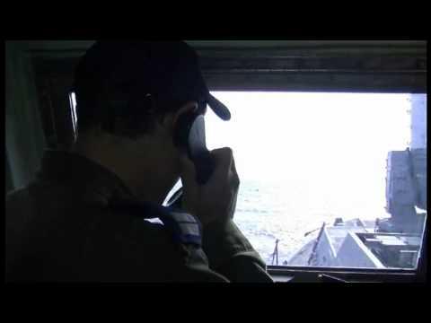 """بالفيديو.. البحرية الصهيونية تستولي على سفينتي """" أمواج الحرية"""" المتجهتين إلى غزة"""