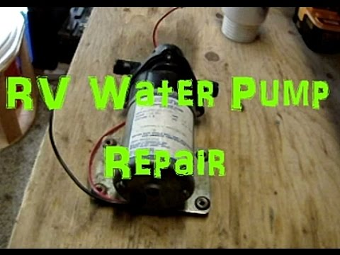 RV Water Pump Repair