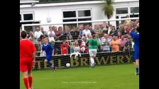 Nicky Byrne scoring at Truro September 2009