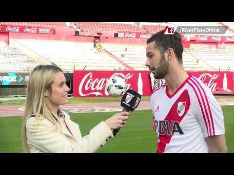 Marcelo Larrondo, nuevo jugador de River