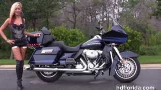 9. Used 2013 Harley Davidson Road Glide Ultra Motorcycles for sale in Florida