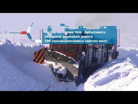 Эксплуатация железных дорог в условиях Крайнего Севера