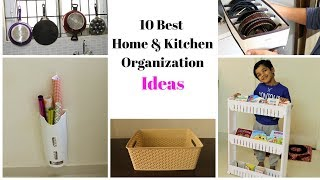 10 Best Home And Kitchen Organization Ideas