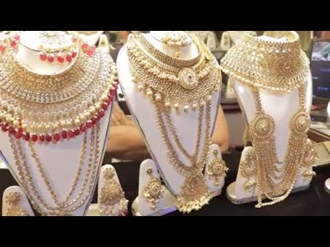 Full Bridal Joypuri Jewelry Set Exclusive Collection at Wholesale Price in BD৷৷