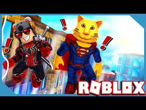 Roblox 2 Player Superhero Tycoon with My Little Nephew