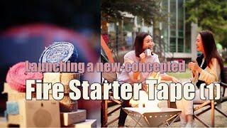 video thumbnail Sparkpia Fire Starter Tape, Outddor Kindling, 8 PCS Boxes youtube