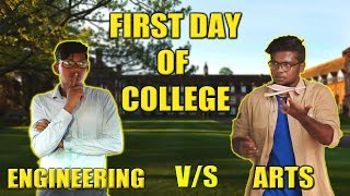 Video FIRST DAY OF COLLEGE ENGINEERING VS ARTS | STARBUCKS KARUVADU MP3, 3GP, MP4, WEBM, AVI, FLV November 2017