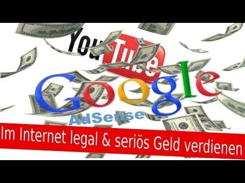 Mit YouTube & Google AdSense Im Internet Geld verdienen – Partnerschaft Monetarisierung TUTORIAL