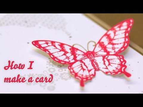 How I make a card - Birthday Card - Stampin' Up!