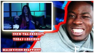 SNOW THA PRODUCT REACTION! Snow Tha Product - Today I Decided (Official Music Video)