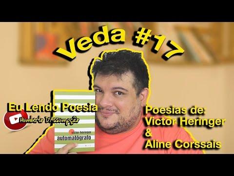 #VEDA 17 - Eu Lendo Poesia #01 - Eu Leio Livros