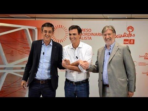 Debate entre los candidatos a la Secretaría General PSOE #debatePSOE