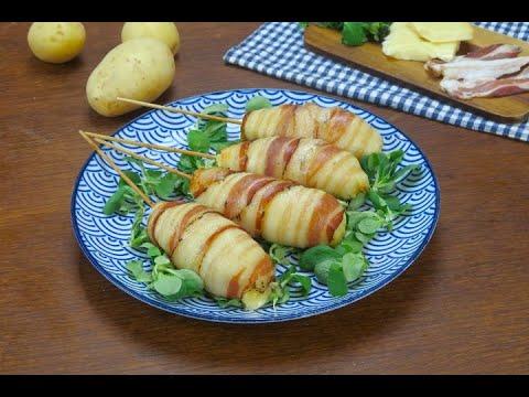 spiedini di patate filanti - ricetta