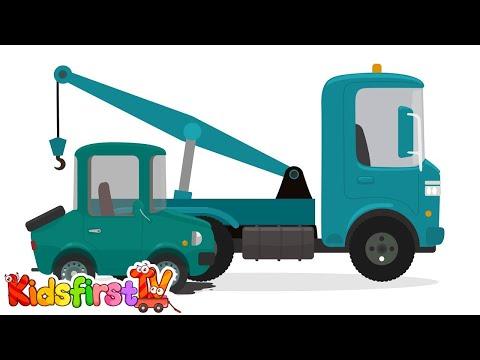 CAR DOCTOR! Kid's Toy Car Cartoons – CAR ENGINE REPAIR – Doc McWheelie's Garage!