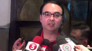 Cayetano disputes 'laglagan' allegations