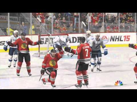 CHELSEA DAGGER IS IN NHL 16! (NHL 15 highlight preview)