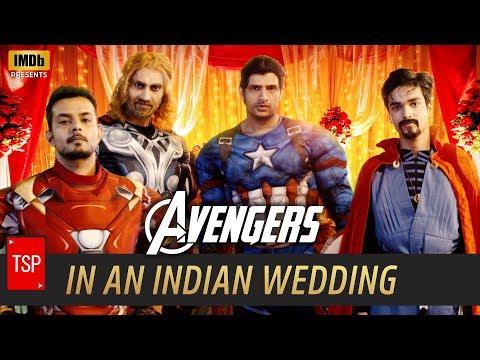 Avengers in Indian Wedding   TSP's Avengers Spoof   3 Million Special