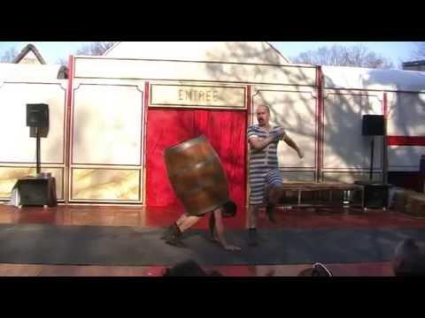 Duo Unwucht spielt Holzfass 2013