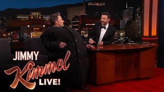 "Download Lagu Ben Affleck Sneaks Matt Damon Onto ""Jimmy Kimmel Live! Mp3"