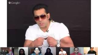 #SalmanFan Hangout On Air with Salman's chosen most Dabangg Fans!