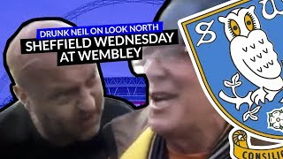 After the Hull City v Sheffield Wednesday Championship Play-Off Final at Wembley in 2016 a Hull City supporter was being interviewed by BBC Look North o n Wembley Way. Neil got involved, forced his way into the shot and said a thousand words without saying a thing. This is a masterclass of facial expression.Bizarrely, this nugget of TV gold was still broadcast on the BBC Look North news that evening and is presented here for posterity.SWFC succumbed in the game to a fantastic Hull City goal, losing 1-0, but the Owls supporters were outstanding before, during and after the game.SUBSCRIBE FOR UPDATES! http://www.youtube.com/subscription_center?add_user=deejayone1Sheffield Wednesday Football Club is a football club based in Sheffield, South Yorkshire, England, who are competing in the Football League Championship, the second tier of the English Football League System. Sheffield Wednesday are one of the oldest professional clubs in the world and the third oldest in the English league. They won the second football competition ever held, the Cromwell Cup, which remains in their possession. The Wednesday, as they were named until 1929, were founding members of The Football Alliance in 1889, and its first champions that inaugural season. The Wednesday joined The Football League three years later when the leagues merged. Sheffield Wednesday were also one of the founding members of The Premier League in 1992.Their main rivals are Sheffield United, the two clubs having contested the Steel City derby on a regular basis for some 100 years. Barnsley, Leeds United, Rotherham United, Chesterfield and Doncaster Rovers are also local rivals. The club has spent the majority of its history in the top flight of English football since joining the Football League in 1892 under the name of The Wednesday Football Club. They have won four League titles, three FA Cups and one League Cup, but their League Cup triumph in 1991 is their only major trophy since 1935. They did reach both domestic c