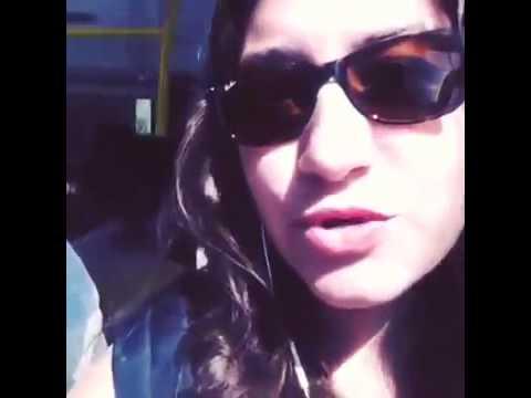 Otobüste Tacize Uğrayan Kız Tacizciyi gösterdi