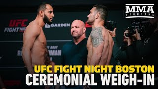 UFC on ESPN 6 Ceremonial Weigh-In Highlights - MMA Fighting by MMA Fighting